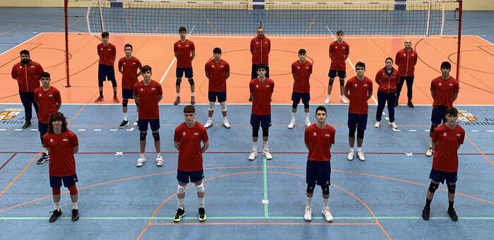 La Selección Española Sub17 masculina de Voleibol se concentra en Azuqueca