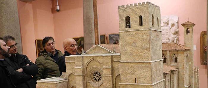Inaugurada la segunda parte de Fortis Seguntina: 'La catedral gótica y su mistagogia' en Sigüenza