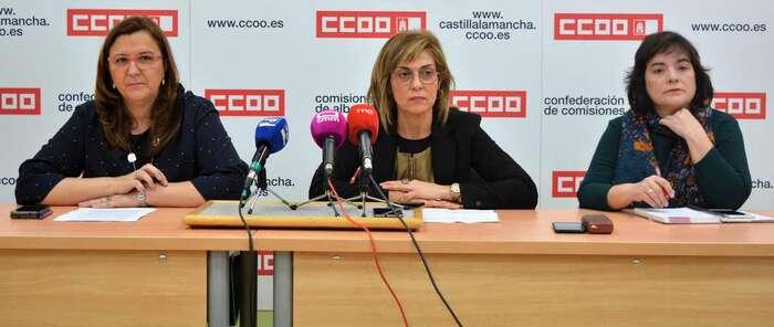 CCOO llama a las 6.630 personas que trabajan para la sanidad pública en Albacete a participar el 14 de marzo en las elecciones sindicales del SESCAM