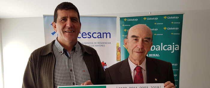 Convenio de Globalcaja con Acescam para la atención integral de personas mayores o en situación de dependencia