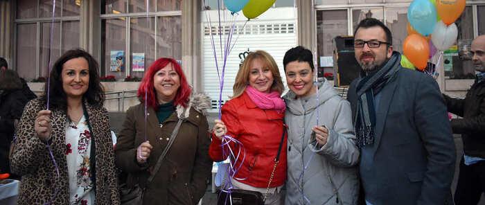 La alcaldesa de Ciudad Real manda un mensaje de esperanza  y apoyo a las familias de niños con cáncer