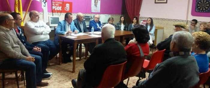 José Torres encabeza la candidatura del PSOE con el objetivo de revalidar la Alcaldía y culminar la transformación de San Carlos del Valle