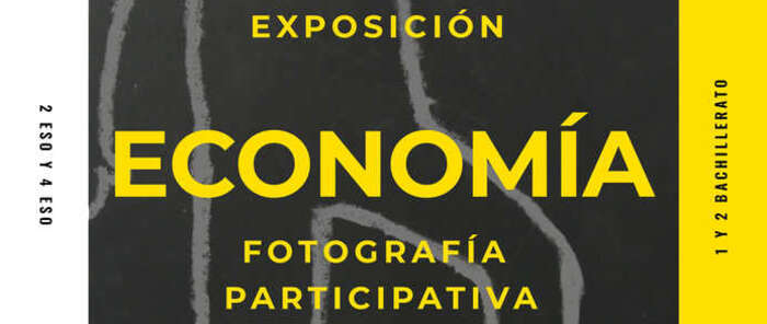 Los alumnos del instituto Fernando de Mena de Socuéllamos ofrecen su visión de la economía a través de una muestra fotográfica