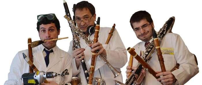Unos 1.000 escolares asisten en Toledo al espectáculo familiar Clarinetarium