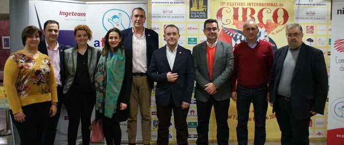 Miembros del ayuntamiento de Albacete asisten a la Gala de Circo patrocinada por Ingeteam a beneficio de AFANION