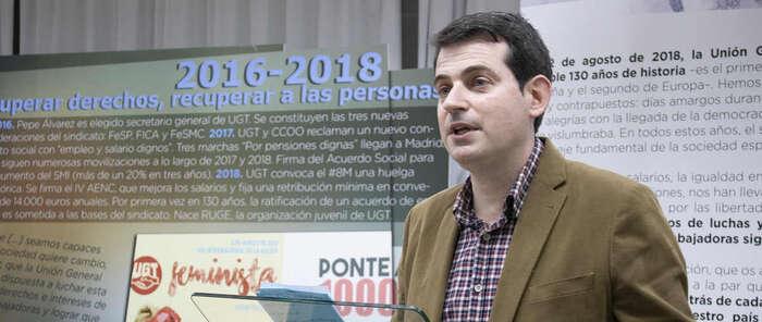 """UGT reivindica una Cuenca organizada frente a las desigualdades y pone en valor la unión social que produjo el """"régimen del 78"""""""