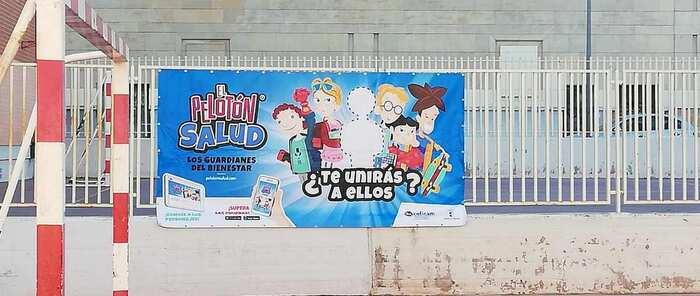 """Coficam inicia en Albacete la campaña sobre ergonomía postural dirigida a los escolares """"el pelotón salud"""""""