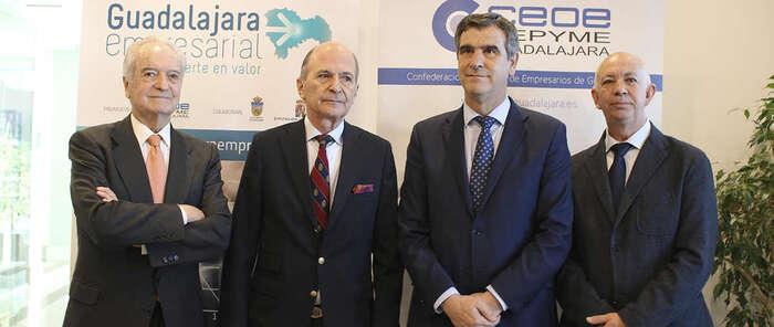 Carlos Rodríguez Braun  inaugura el ciclo de desayunos económicos de 'Guadalajara empresarial' con aforo completo