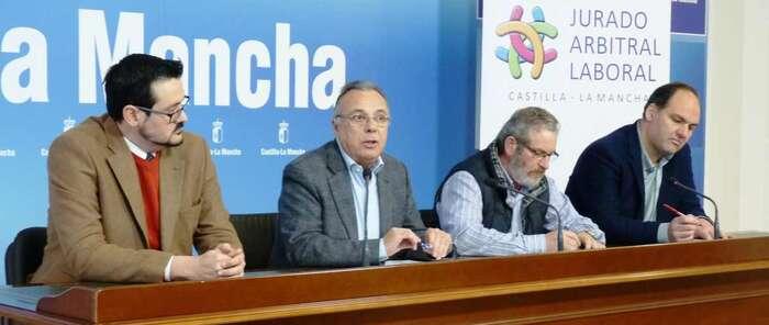 La mediación del Jurado Arbitral Laboral resolvió 58 expedientes en la provincia de Ciudad Real durante el año 2018