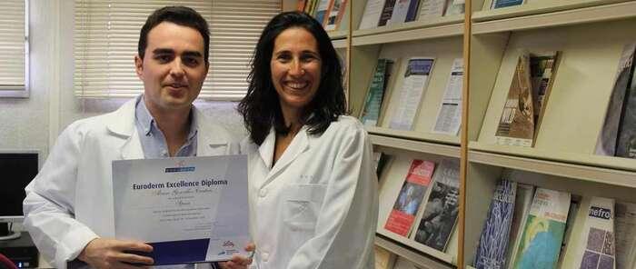Un médico residente de Dermatología del Hospital de Toledo, premiado nuevamente por sus trabajos relacionados con la psoriasis