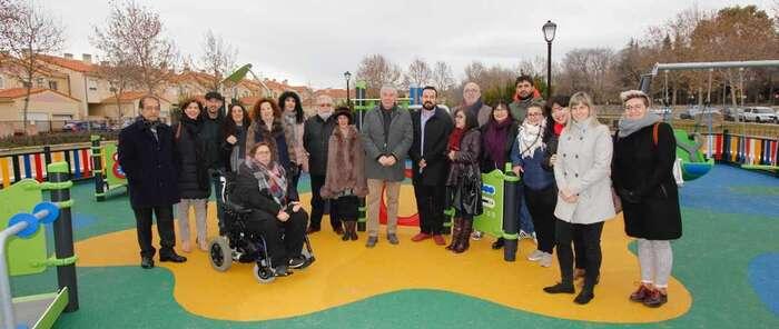 Illescas cuenta con un parque adaptado a menores con capacidades diferentes