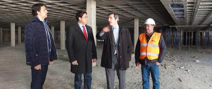 Las obras del aparcamiento de Astrana Marín en Cuenca cumplen con los plazos previstos para finalizar el 10 de junio