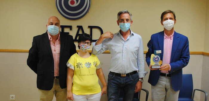 El alcalde aplaude el reconocimiento al Hospital de Valdepeñas que realiza AFAD