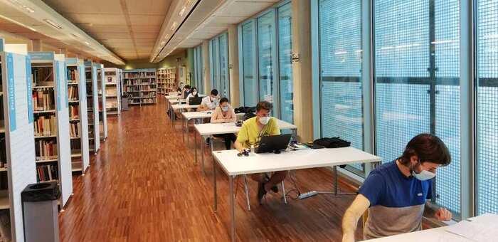 Más de 46.000 usuarios han pasado por las cinco bibliotecas de la Junta durante los dos primeros meses desde su reapertura