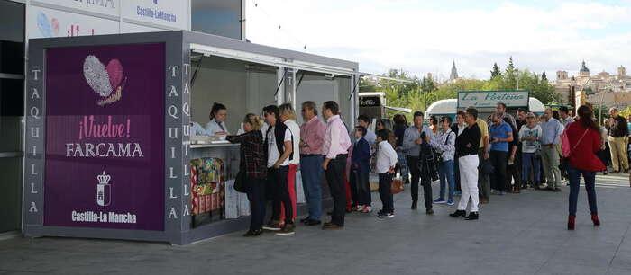Imagen: El 88% de los artesanos participantes en FARCAMA 2015 volverían a elegir 'Toletvm' como escenario de la próxima edición