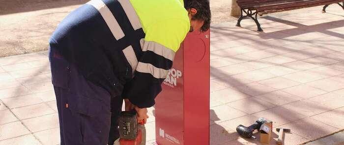 El Ayuntamiento de Alcázar de San Juan instalará nuevas papeleras solicitadas por los vecinos en los presupuestos participativos