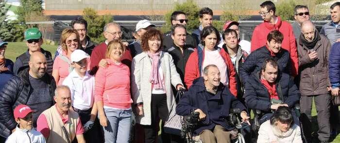 El Club de Golf 'El Hidalgo' de Alcázar de San Juan celebró el pasado fin de semana un torneo a beneficio de Afadis
