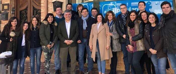 PP de Ciudad Real, la campaña 'Pueblo a pueblo' recala en Bolaños de Calatrava