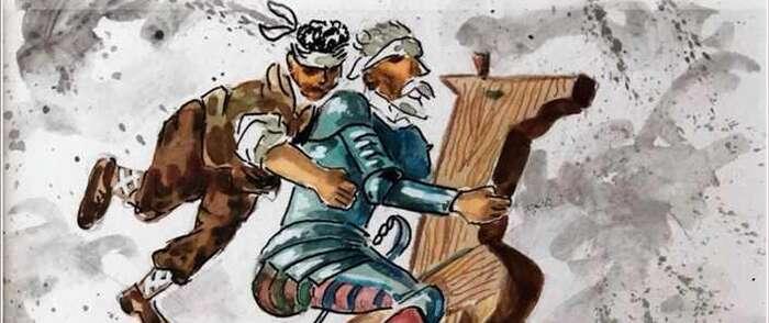 """La Casa de la Cultura de Daimiel acoge la exposición """"El Quijote de Samper"""""""