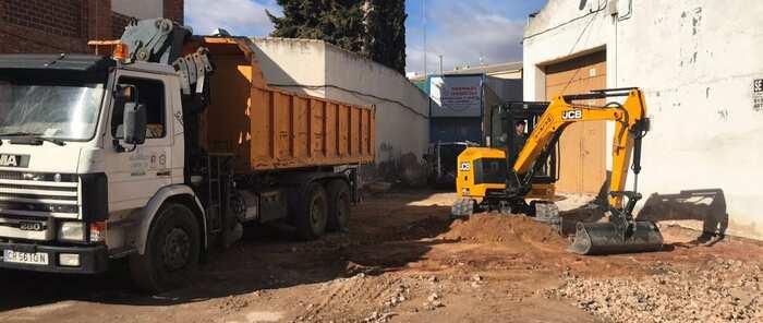 Alcázar de San Juan ha iniciado la segunda fase de las obras en la calle Santa Elena