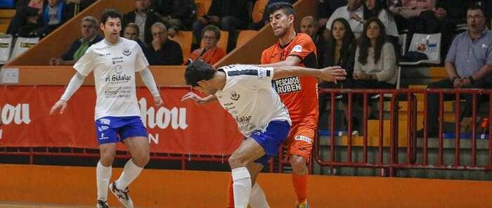 Liga Nacional de Fútbol Sala: El Manzanares FS Quesos El Hidalgo recibe este sábado al líder Pescados Rubén Burela