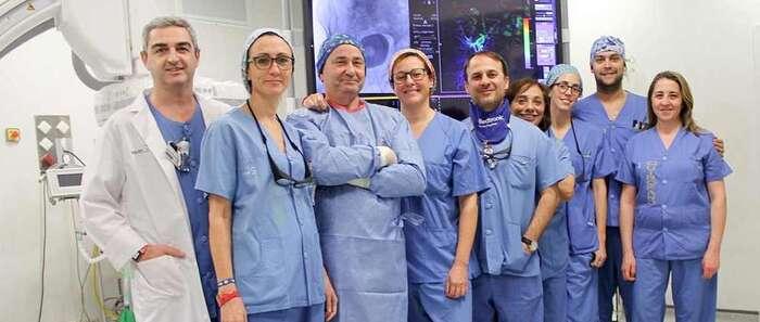 La Unidad de Radiología Intervencionista del Hospital de Toledo, miembro del grupo internacional de embolización prostática