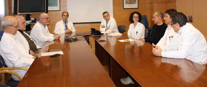 La Gerencia del Área Integrada de Cuenca aborda los procesos que se llevarán a cabo en la nueva Unidad de Hemodinámica