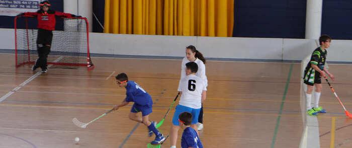 El floorball se consolida en Almodóvar del Campo