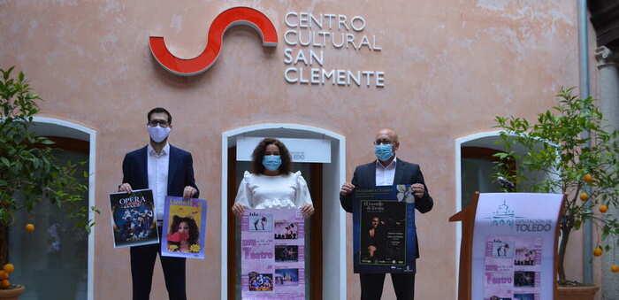 La Diputación de Toledo apoya la celebración de la semana de teatro de Sonseca con todas las medidas necesarias por la Covid-19
