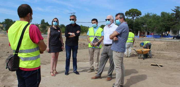El Gobierno de Castilla-La Mancha señala que la actuación en el Peral de Valdepeñas cuenta desde el inicio con supervisión arqueológica