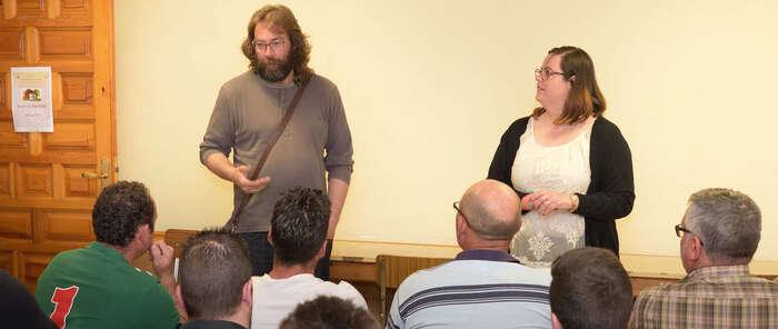 Enrique Peces destaca la importancia del sector agrícola para la localidad de Argamasilla de Alba