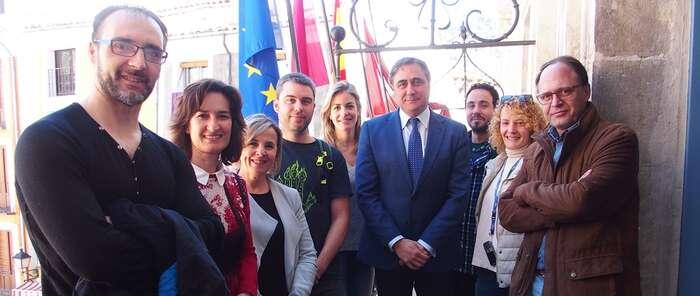 Comienza la grabación del documental en 4K sobre Cuenca para la serie 'Ciudades Patrimonio de la Humanidad'