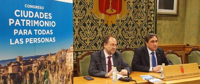 """El grupo de Ciudades Patrimonio de la Humanidad de España, el Ayuntamiento de Cuenca y la Fundación ONCE organizan el Congreso """"Ciudades Patrimonio para todas las personas"""""""