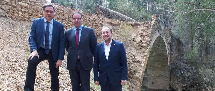 Ángel Mariscal agradece a la Diputación que lleve a cabo la rehabilitación del Puente del Chantre que no atendió el Gobierno de Page