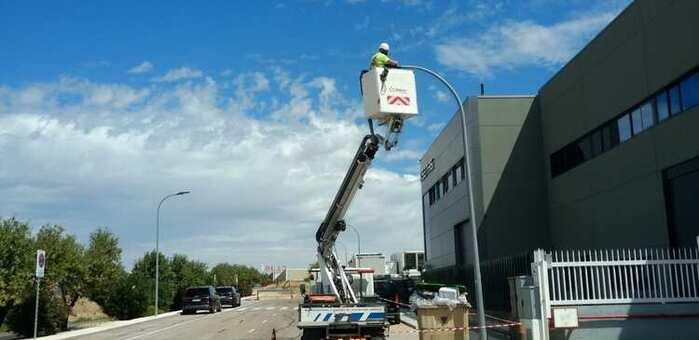 Illescas sigue invirtiendo en tecnología LED para el alumbrado público