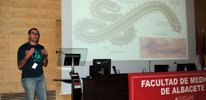 imagen de El virus del ébola congrega a un gran número de interesados en el tema