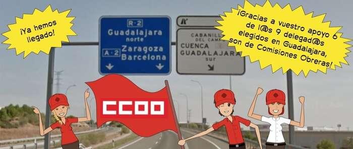CCOO gana las elecciones sindicales en Burger King de Guadalajara