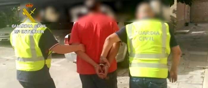 La Guardia Civil detiene al presunto autor de un homicidio ocurrido hace 9 años en Alicante