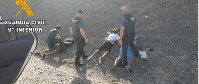 La Guardia Civil detiene a los 4 integrantes de un grupo criminal especializado en robo de viviendas