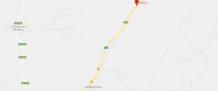Un accidente en la A-2 dirección Madrid provoca el corte del carril izquierdo