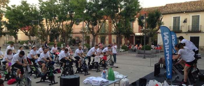 Gran acogida del IV Evento Benéfico del Club Deportivo Spinning Varsospin en Torralba
