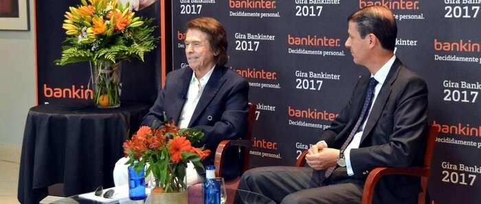 Bankinter lanza su Gira 2017 para clientes con Raphael como protagonista de excepción