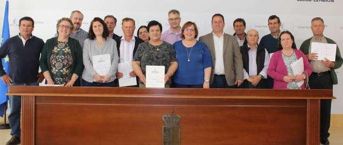 """El Gobierno de Castilla-La Mancha concluye la concentración parcelaria de Porzuna """"tras realizar un gran esfuerzo económico y de personal"""""""