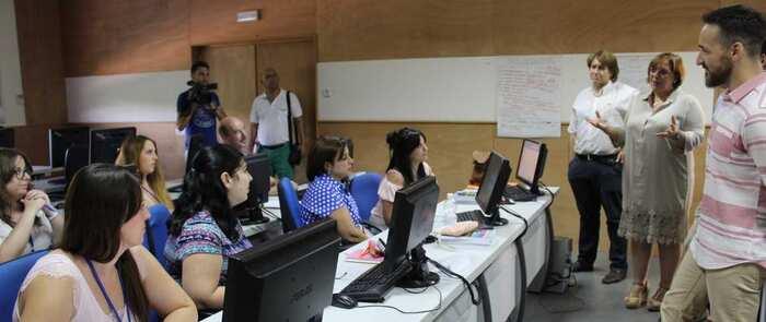 El Gobierno Regional posibilita que ocho alumnos se formen en Valdepeñas en un taller de empleo sobre gestión cultural