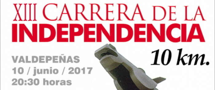 Valdepeñas recuperará los 10 km de la 'Carrera de la Independencia'