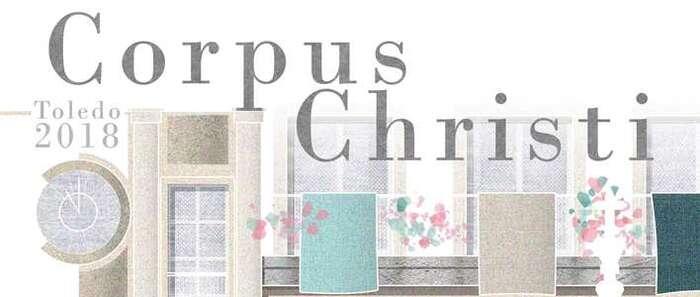 La Semana Grande del Corpus Christi de Toledo ya tiene cartel, una obra gráfica de la arquitecta toledana Natalia Martínez