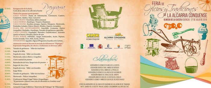 CEDER Alcarria Conquense organiza la 'Feria de Oficios y Tradiciones de La Alcarria Conquense'
