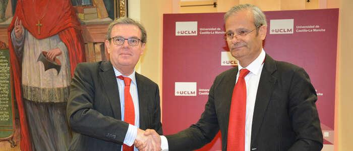 La UCLM y Quantum Minería colaborarán en el ámbito de la gestión de recursos mineros y naturales