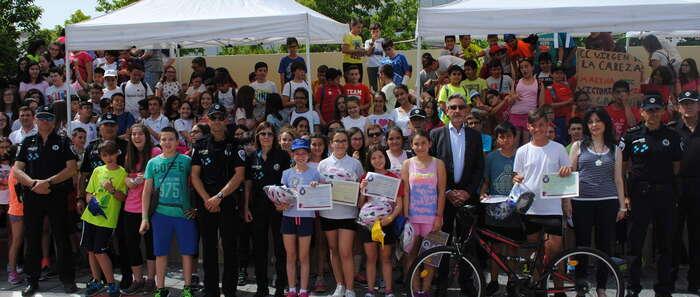 Entregados los premios del VIII Concurso de Educación Vial para Escolares de Valdepeñas