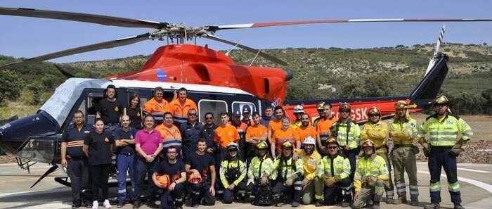 El Gobierno de Castilla-La Mancha potencia la formación de los voluntarios de Protección Civil  sobre Incendios en Vegetación